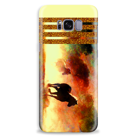 Image of Wild Horses Mobile Phone Case