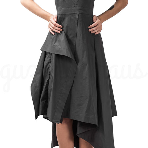 Image of Handkerchief Asymmetric Dress