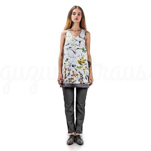 Image of Floral  Sleeveless Top