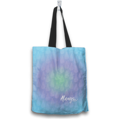 Mermaid Lovers Always Dream Tote Bag Back View