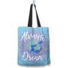 Mermaid Lovers Always Dream Tote Bag