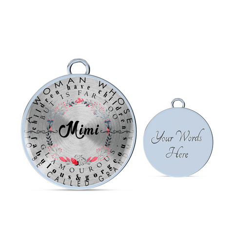 Mimi Definition Round Necklace and/or Bracelet