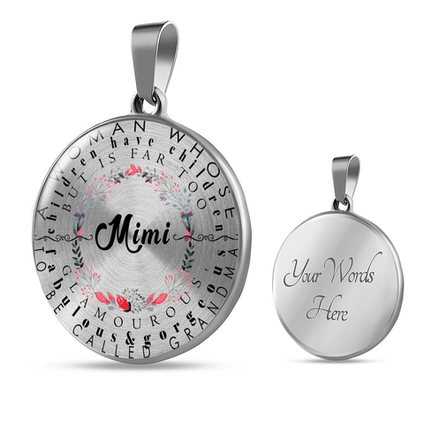 Mimi Definition Round Necklace and Bracelet