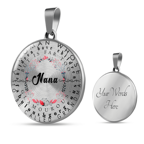 Image of Nana Definition Necklace Bracelet