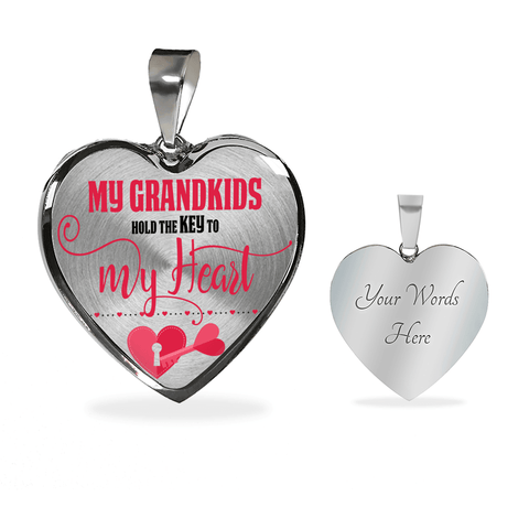 Image of my grandchildren keys to my heart