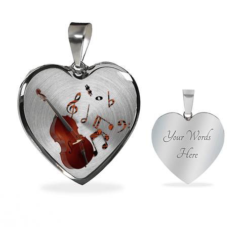 music lover necklace gift