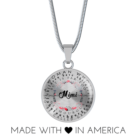 Image of Mimi Definition Round Necklace and/or Bracelet