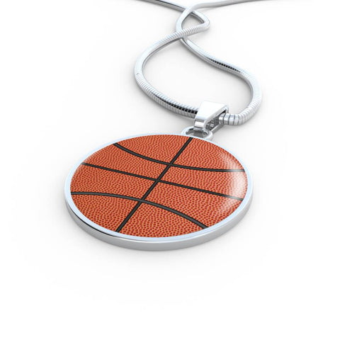 Personalized Basketball Necklace