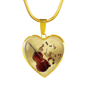 double bass jewelry