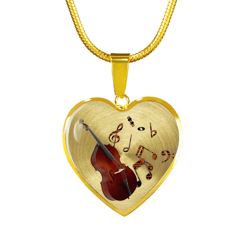 Image of double bass jewelry