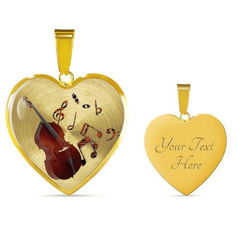 music lover necklace unique gift