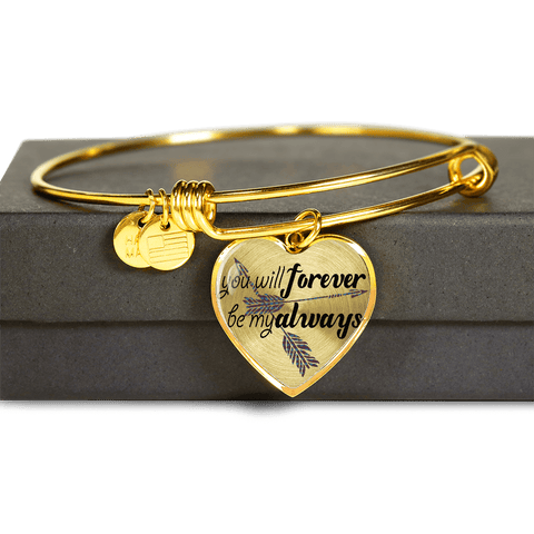 Image of Forever Be My Always Heart Jewelry
