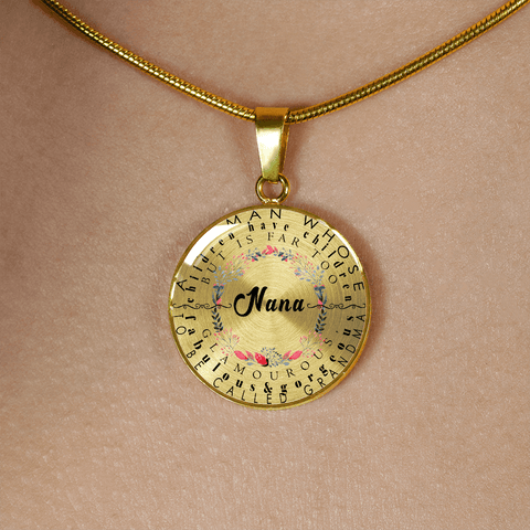 nana definition gift necklace