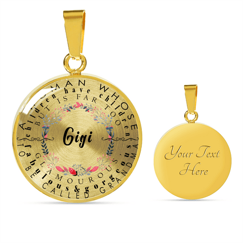 Image of Gigi Definition Circle Necklace and Bracelet