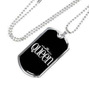 Queen Premium Pendant Add Message