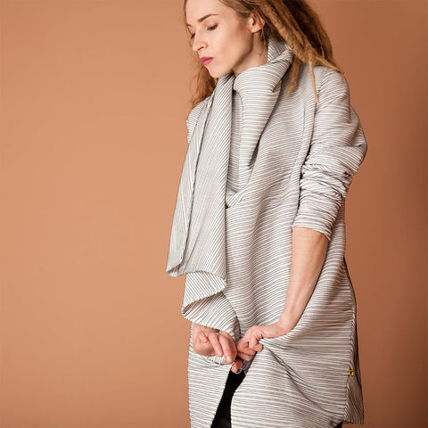 Image of Women's Drape Spring Coat