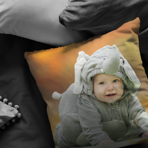 Image of Personalized Photo Pillow or Pillowcase