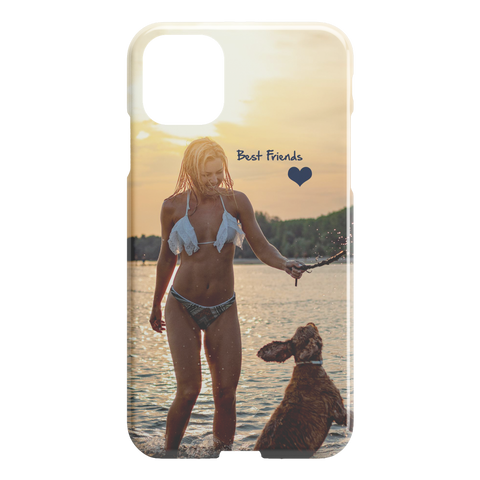 Image of best friends photo iphone case
