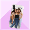 best friends photo iphone case