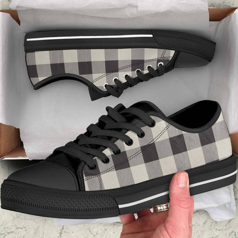 Buffalo Check Womens Sneakers
