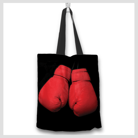 Boxing Glove Tote Bag