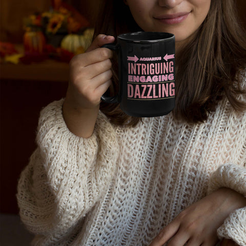 aquarius quote mug