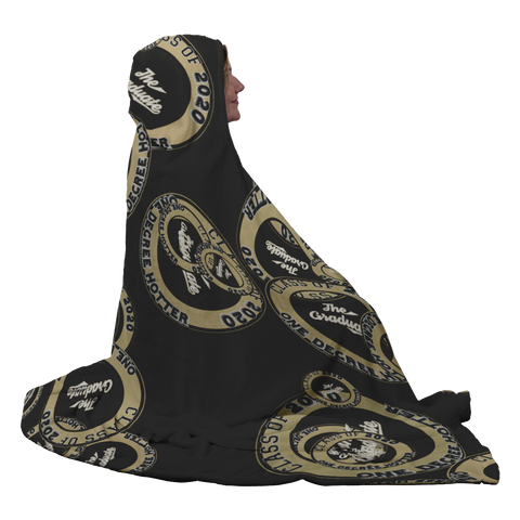 Image of Class of 2020 One Degree Hotter Hooded Blanket