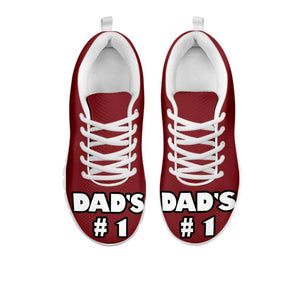 Dad's Fishing Buddy Kids Sneakers