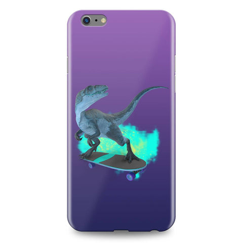 Image of Dinosaur on Wheels Skatebord Dinosaur Phone Case