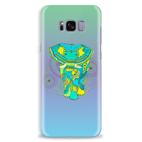 Image of Boho Elephant Art Custom Mobile Phone Cover