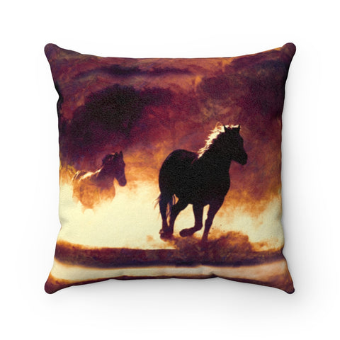 Image of horse pillow case