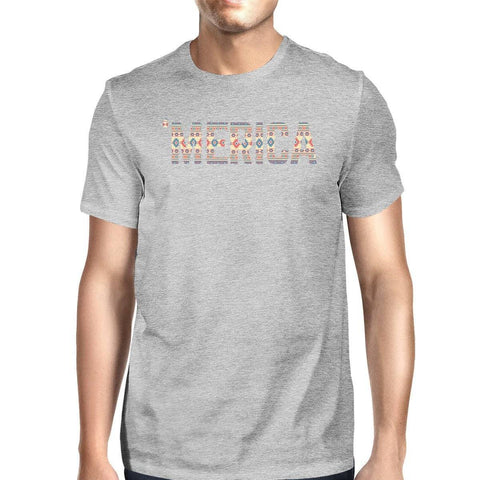 Image of 'Merica Witty Design Graphic T-Shirt For Independence Day Gift Idea