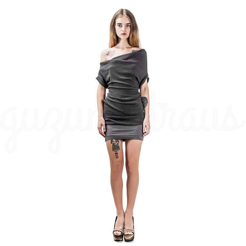 grey multi-purpose dress
