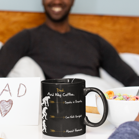 dad and why coffee mug
