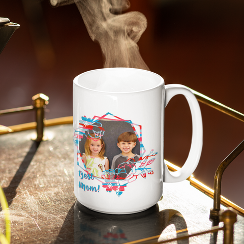 Image of mom custom photo mug