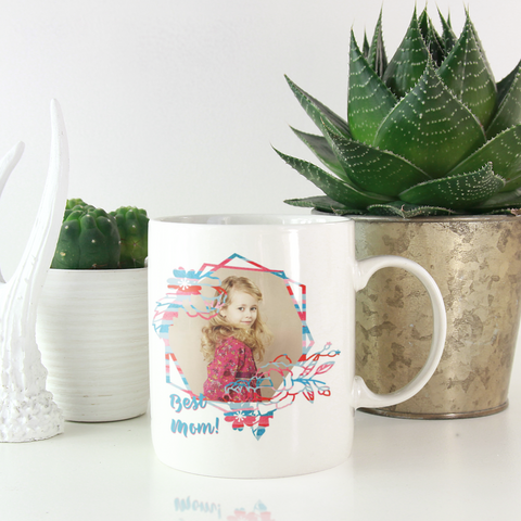 Image of add photo to coffee mug mom gift