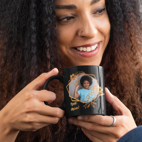 Image of photo mug gift best mom