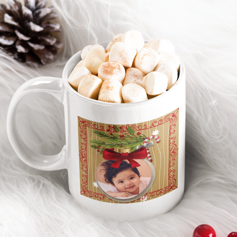 Image of add photo to mug christmas gift