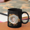 best mom black photo mug
