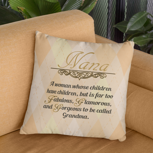 nana gift nana quote pillowcase