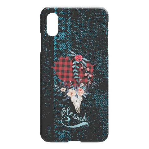 Image of Blessed Country Girl iPhone Case