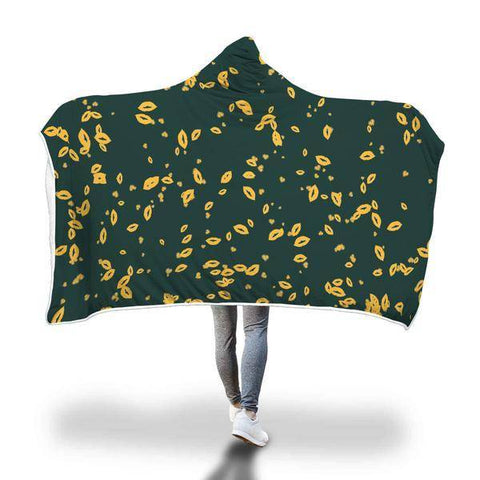 Image of Green Bay Packers Hooded Blanket