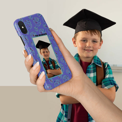 Image of graduate photo phone case add photo
