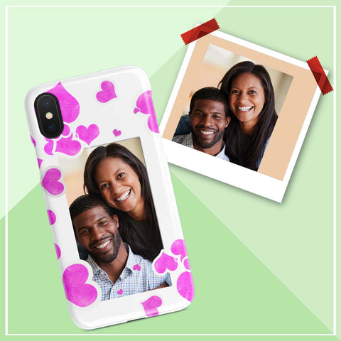 Image of iphone case gift with photo