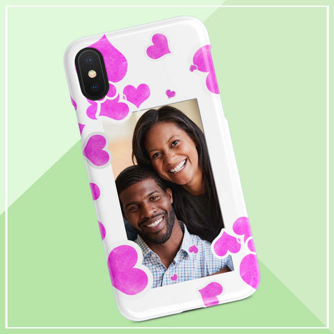 personalized add photo iphone case