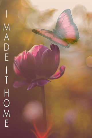 Image of I Made It Home Memorial Inspirational Poster