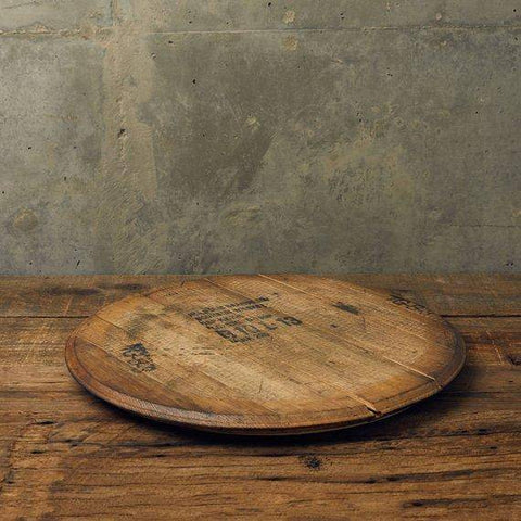 lazy susan recycled wood
