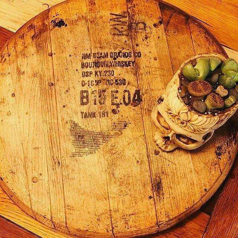 Image of lazy susan reclaimed wood