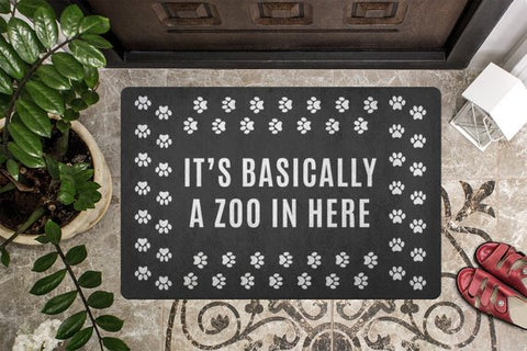 Image of Pet Owners Funny Welcome Mat