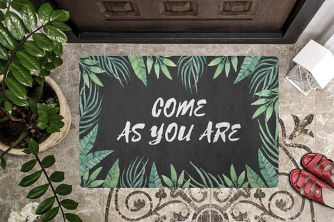 Image of Come As You Are Welcome Mat